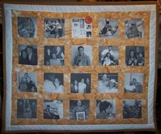 Memory quilt for Tina Thompson