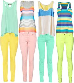 Skinnys and Tanktops for summer casual outfit Teen Fashion, Fashion Outfits, Womens Fashion, Spring Summer Fashion, Spring Outfits, Summer 3, Summer Wear, Casual Outfits, Cute Outfits