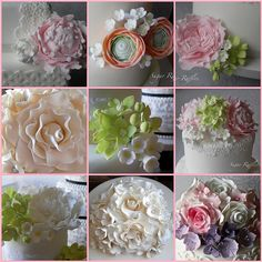 Sugar Flowers by Sugar Ruffles
