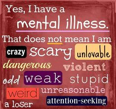 Life with mental health problems quote