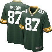 Celebrate your Green Bay Packers fandom with this Game Football jersey by Nike. It features printed Green Bay Packers and Jordy Nelson graphics letting everyone know who you cheer for. You will boast your team spirit with this Green Bay Packers jersey! Green Packers, Green Bay Packers Jerseys, Nfl Green Bay, Packers Gear, Nfl Packers, Nfl Jerseys For Sale, Football Jerseys, Baseball, Football Shop