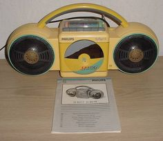 Philips cassette player