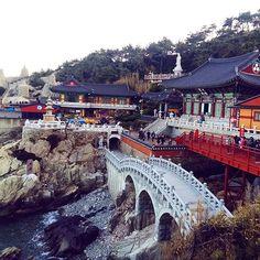 The Water #Temple in #Busan #Korea.