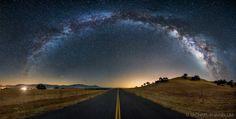 The Galaxy Guides Us Home by Michael Shainblum, via 500px