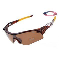$13 - Cheap oakley free shipping radarlock sunglasses tortoise / persimmon