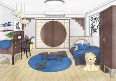 Dorm Layout, Dorm Room Layouts, Oc Manga, Anime Oc, Naruto Oc, Casa Anime, Human Pikachu, Dorm Design, Dream Anime
