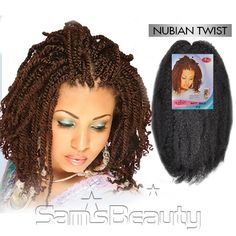Motown Tress Synthetic Hair Braid Nubian Twist Braid