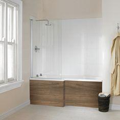 Definity wood bath from Utopia Bathrooms. Furniture For You, Wooden Furniture, Furniture Decor, Bath Shower Screens, Wood Bath, Bathrooms, Bathtub, Autumn, Modern