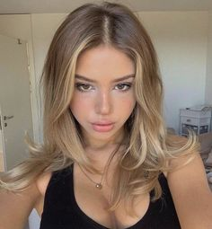 Cabelo Ombre Hair, Balayage Hair, Guy Tang Balayage, Dye My Hair, New Hair, Wavy Hair, Hair Inspo, Hair Inspiration, Blonde Hair Looks