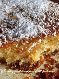 Greek Sweets, Greek Desserts, Greek Recipes, Candy Recipes, Dessert Recipes, Cooking Time, Cooking Recipes, Vegan Recipes, Sweet Tooth