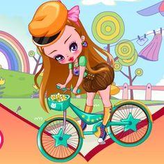 Mica printesa pe bicicleta este un joc pentru fete din categoria jocuri barbie in care fetita noastra va iesi la o plimbare pe bicicleta, pe o vreme superba afa...