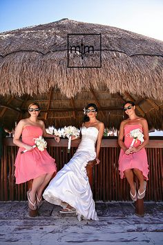 Girls are too cool for school! NOW Sapphire Wedding Day. Unique Wedding Photography Ideas. Riviera Maya Best Destination Wedding. Top Wedding Photographer in Mexico. MTM Photography. Cancun Wedding Photographer.