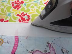 """How to Quilt from the Very Beginning - """"The thing you need to know in quilting is that you press...not iron.  This is an important distinction.  As a newcomer to quilting, you might not be aware that there's a difference, but there is.""""   Great blog with tips & tutorials!!!"""