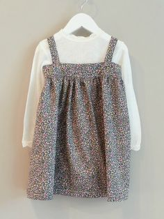 Karla dress with Joha wool/silk undershirt for winter. Dress handmade by mimmilikes.no