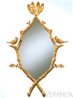 Carvers' Guild Songbirds Mirror