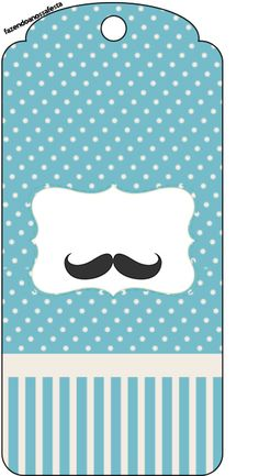 Uau! Veja o que temos para Tag Agradecimento Chá de Bebê Mustache Mustache Party, Baby Party, Little Man, Vintage Signs, Fathers Day, New Baby Products, Baby Boy, Snoopy, Baby Shower