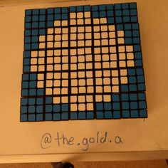 The Fantastic Four stop motion animation using Rubik's cubes