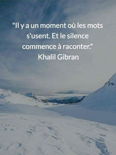 Citation Pour plus ->anais. Sad Love Quotes, Best Inspirational Quotes, French Quotes, English Quotes, Khalil Gibran Citations, Khalil Gibran Quotes, Positive Attitude, Positive Quotes, Yoga Quotes