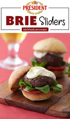 Healthy Diet Recipes, Lunch Recipes, Appetizer Recipes, Cooking Recipes, Yummy Recipes, Slider Sandwiches, Sliders, Slider Recipes, Diet Recipes