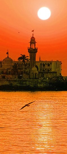 Haji-Ali Dargah, Mumbai, India Places Around The World, Oh The Places You'll Go, Places To Visit, Around The Worlds, Goa India, Delhi India, Jaipur, Mumbai, Haji Ali Dargah