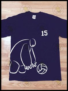 T-Shirt: Baymax Chasing Volleyball by summerbeecreations on Etsy