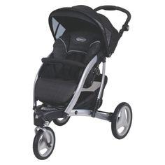 Graco Trekko3 Wheel Classic Connect ™ Stroller - Mode Noir