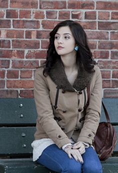 Pin for Later: A Fashionable Farewell: The Carrie Diaries' Most Memorable Looks  Brighten your Winter coat with statement earrings like this turquoise pair from Blu Bijoux ($16).