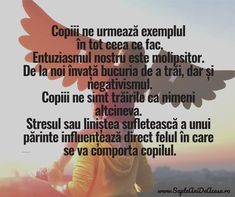 #citate #Parenting #părinți #copii #educație Positive Discipline, Self Quotes, God Prayer, Classroom Management, My Children, Kids And Parenting, Personal Development, Prayers, Positivity