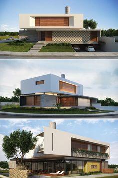 Casa IF 2014_ Martins Lucena Arquitetura e Construção #fachadasmodernasresidenciais