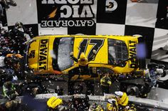 Top 40 Daytona 500 performers of all time:    Matt Kenseth:   The 2003 NASCAR Premier Series champion won the 2009 Daytona 500 when he passed Elliott Sadler just moments before heavy rain fell, forcing a premature end to the race. Kenseth won the Great American Race for a second time in 2012 and was in the lead on the final lap last year.