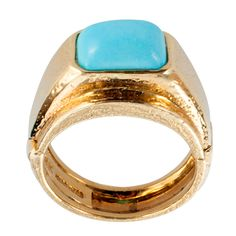 1stdibs - WEBB, A Lady's Turquoise Ring With Adjustable Shank explore items from 1,700  global dealers at 1stdibs.com