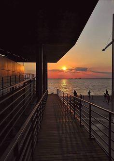 Romantic Places, Thessaloniki, My Town, Macedonia, Urban Design, Greece, Sunrise, Wallpapers, Mood