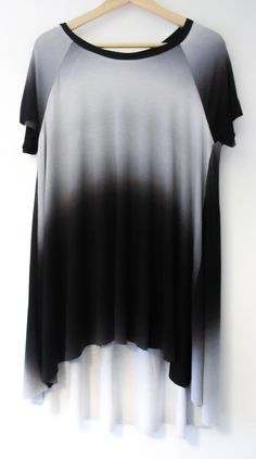 6b60eb77c4a Closet Case Patterns Ebony T-shirt  amp  Dress Pattern - tunic version in  ombre