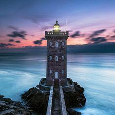 Popular Photos / 500px Kiermorvan lighthouse in Finistere France. by Kermorvan Yves. L.