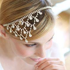 23 Beautiful Bridal Accessories Under $100 via Brit + Co