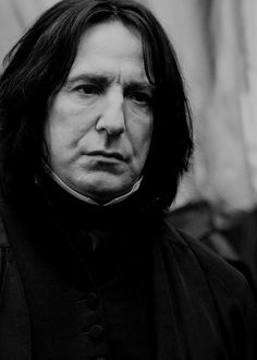 """thenoblehouseofrickman: """""""" And to Harry's horror, Slughorn threw out an arm and seemed to scoop Snape out of thin air toward them. """"Stop skulking and come and join us, Severus! Severus Snape Always, Professor Severus Snape, Snape Harry Potter, Harry Potter Severus Snape, Severus Rogue, Harry Potter World, Harry Potter Movie Trivia, Harry Potter Characters, Alan Rickman Severus Snape"""