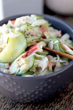 Kani Salad - Japanese Crab Salad | Pickled Plum | Easy Asian Recipes