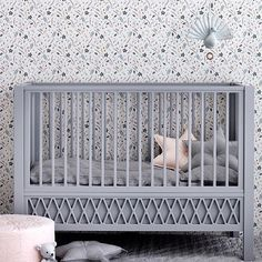 Looks darling! The wallpaper into this nursery looks awesome. Follow us @mysleepymonkey for more 📷 kid's room and nursery inspiration!
