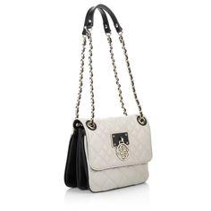 Guess Aliza Convertible Crossbody Flap Bag Almond Multi Designer Lederhandtaschen bei Fashionette