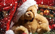 Happy Teddy Bear Day Teddy Bears For Valentines Day: Hey guys Today is Happy teddy Day. And we wish you a very Happy Teddy day. Christmas Abbott, Noel Christmas, Christmas Wishes, Winter Christmas, Christmas Themes, Christmas Characters, Magical Christmas, Victorian Christmas, Christmas Balls