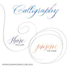 Calligraphy: Share the Craft, Preserve the Trade