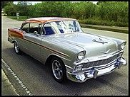 1956 Chevrolet Bel Air  - Ground up restoration  - New custom paint  - Power steering  - Power brakes  - Vintage air  - 350 Dual Quad engine  - Coys wheels