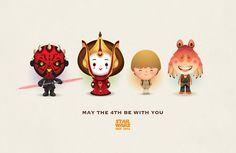 Eviltender.com - Jerrod Maruyama's Adorable World of Star Wars