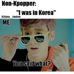 And the murderous jealous rage and depression that follows... #Kpop #KpopHumor