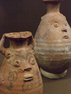 Milk was fed to sick ancient Egyptian children from these Bes jars in hopes that the milk would be transformed into medicine.