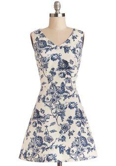Avid Antiquer Dress | Mod Retro Vintage Dresses | ModCloth.com