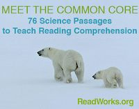 Science Passages Aligned to Common Core Standards to teach Reading Comprehension leveled by grade level.
