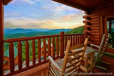 Pigeon Forge Cabin - Mountain Top View - 1 Bedroom - Sleeps 4