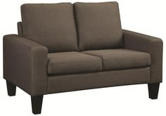 Bachman Grey Sofa and Love with Track Arms