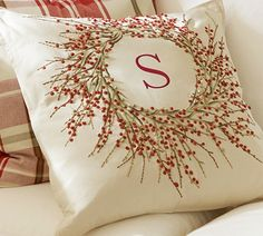 a pretty pillow just for me!